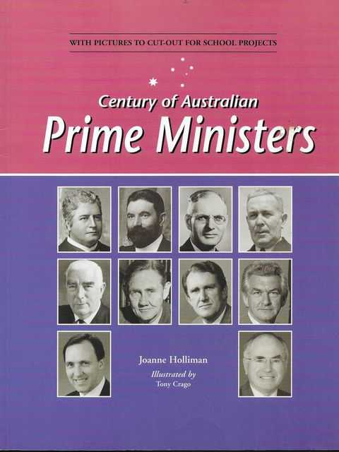 Image for Century Of Australian Prime Ministers [With Pictures to cut out for School Projects]