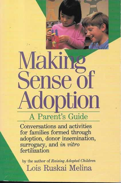 Image for Making Sense Of Adoption - A Parent's Guide