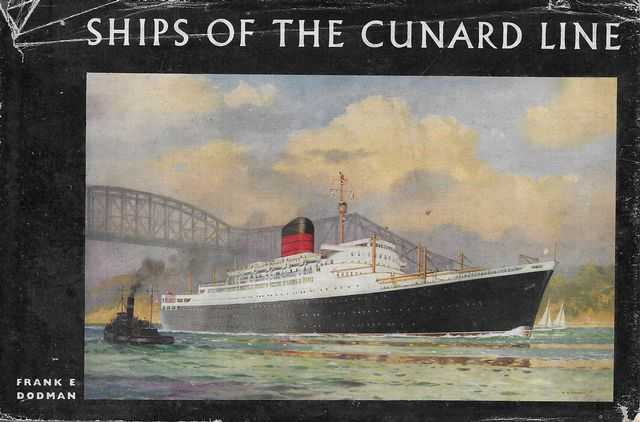 Image for Ships of the Cunard Line