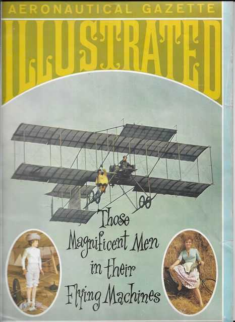 Image for Aeronautical Gazette Illustrated: Those Magnificent Men In Their Flying Machines [Special Souvenir Edition 1910]