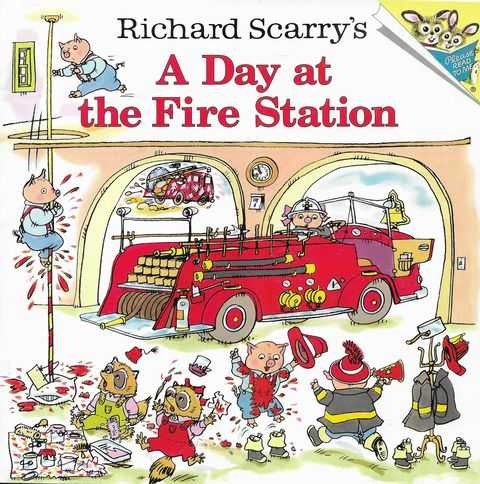 Image for Richard Scarry's A Day At The Fire Station