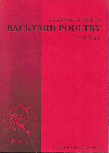 Image for A Beginner's Guide to Backyard Poultry