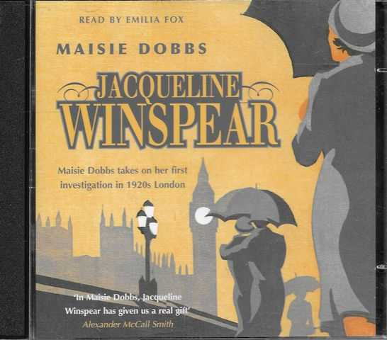 Image for Maisie Dobbs [2 CD's] [Read by Emilia Fox]