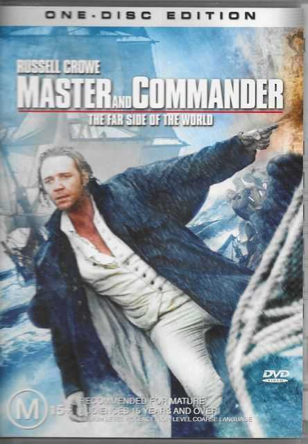 Image for Master and Commander: The Far Side of the World [Starring Russell Crowe] [One Disc Edition]