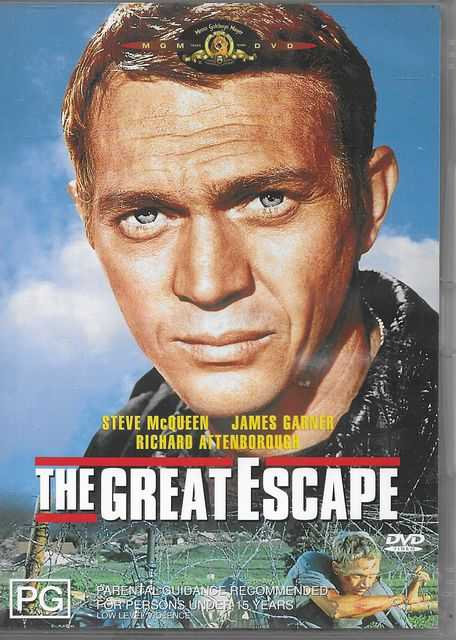 Image for The Great Escape [Starring Steve McQueen, James Garner, Richard Attenborough]