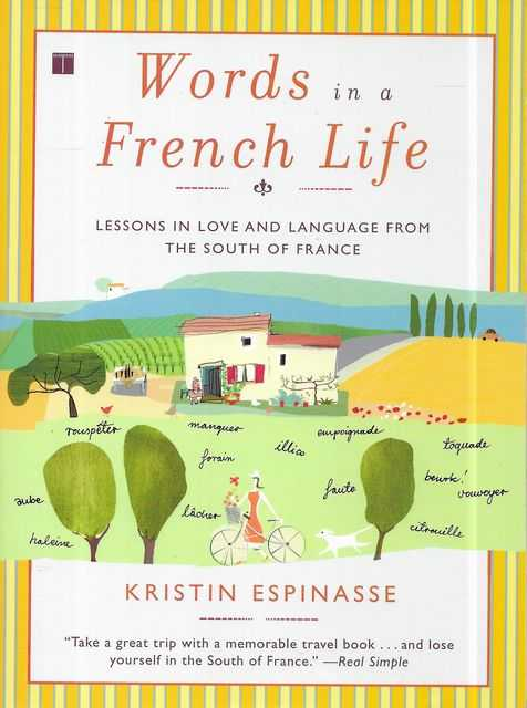 Image for Words in a French Life: Lessons in Love and Language from the South of France