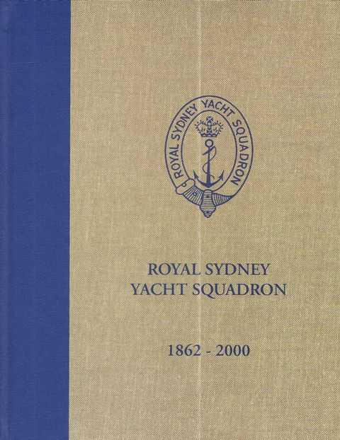 Image for Royal Sydney Yacht Squadron 1862 - 2000