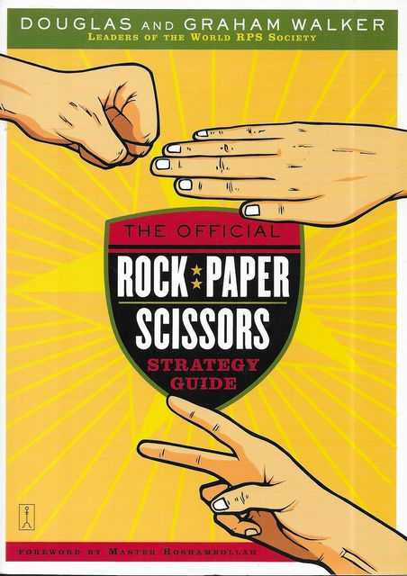 Image for The Official Rock Paper Scissors Strategy Guide
