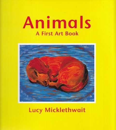 Image for Animals: A First Art Book