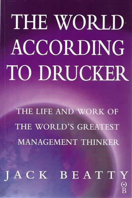 Image for The World According To Drucker