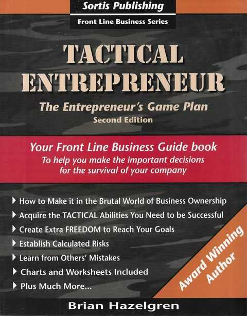 Image for Tactical Entrepreneur: The Entrepreneur's Game Plan