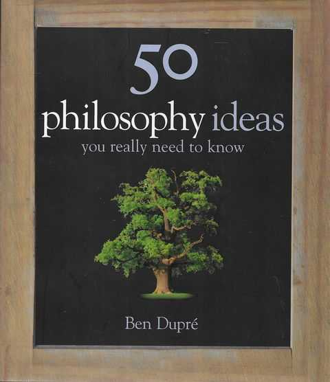 Image for 50 Philosophy Ideas You Really Need To Know