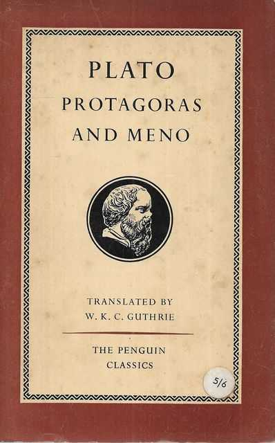 Image for Protagoras and Meno