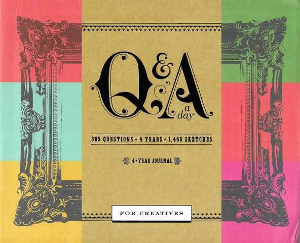 Image for Q & A For Creatives : A Four Year Journal