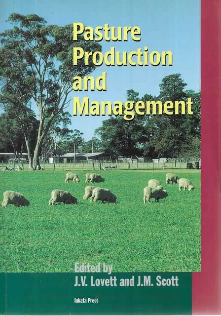 Image for Pasture Production and Management