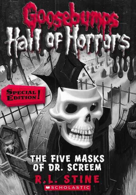 Image for Goosebumps: Hall of Horrors #3 Five Masks of Dr Screem