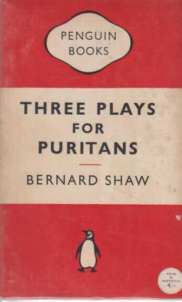 Image for THREE PLAYS FOR PURITANS - The Devil's Disciple, Caesar & Cleopatra and Captain Brassbound's Conversion.