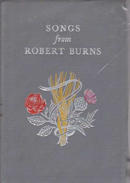 Image for SONGS FROM ROBERT BURNS 1759-1796 - A Selection